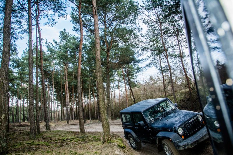 4x4 Jeep fahren im Funpark Meppen