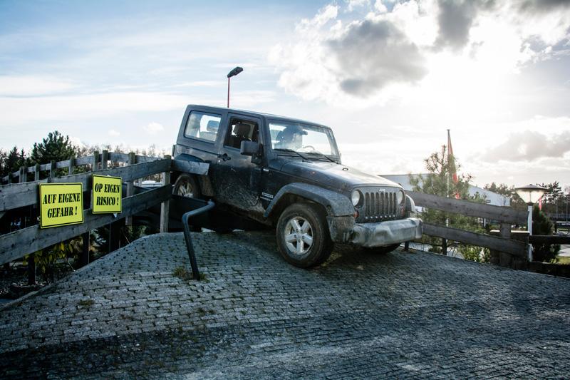 Jeep fahren im Funpark Meppen