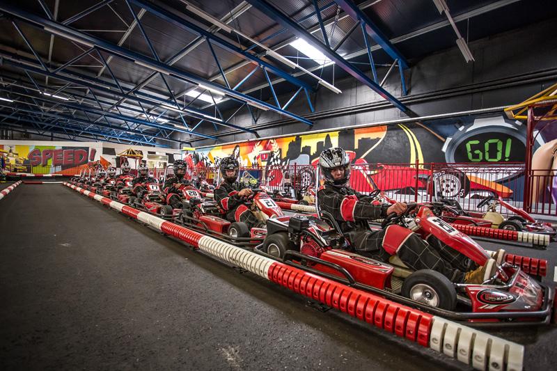 Indoor Kartbahn Funpark Meppen