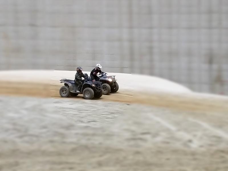 Quadfahren im Funpark Meppen