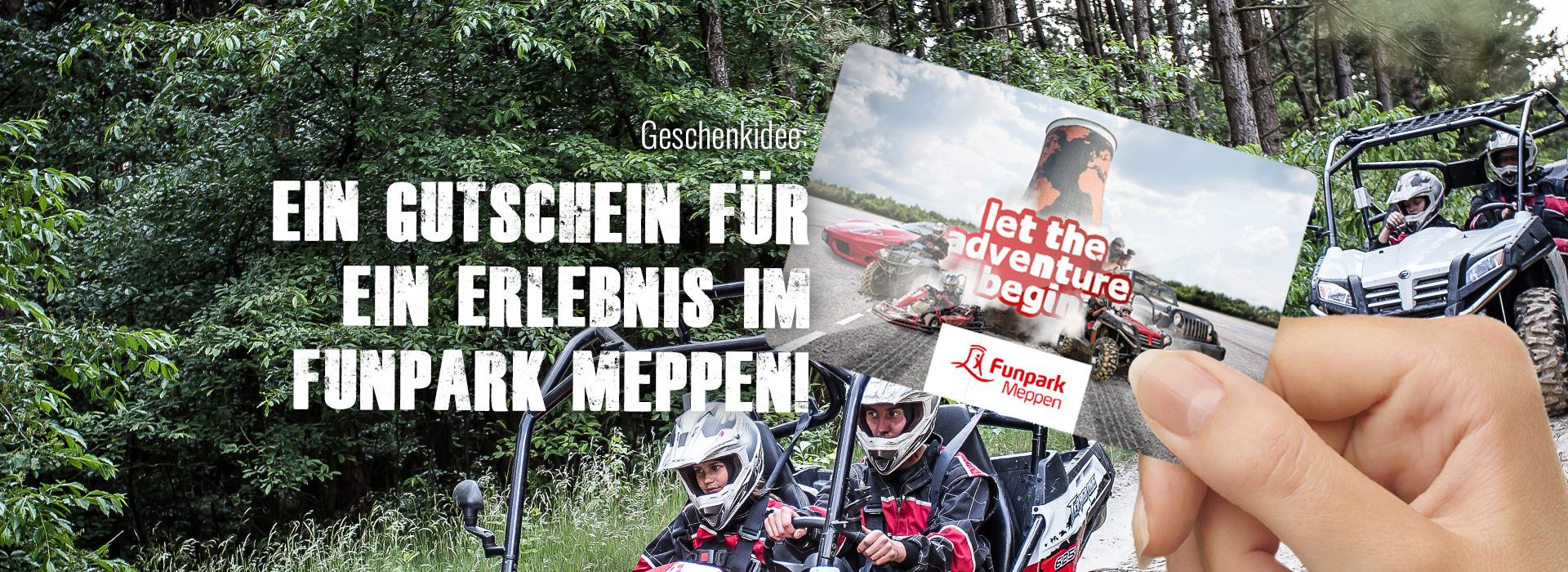 Geschenkgutschein Funpark Meppen
