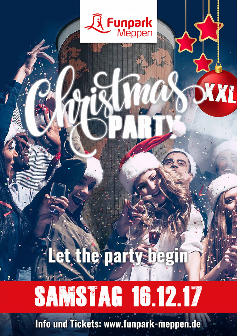 Christmas Party XXL im Funpark Meppen am Samstag, 16.12.2017